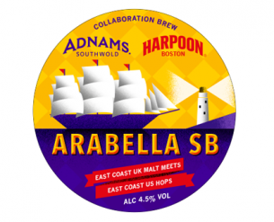 Adnams Arabella Beer Label