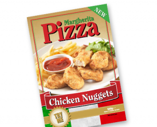 Autumn Foods Pizza Nuggets Pack