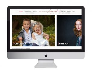 Kate Anderson Photography Website