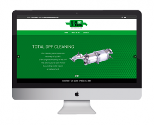 Total DPF Cleaning Website